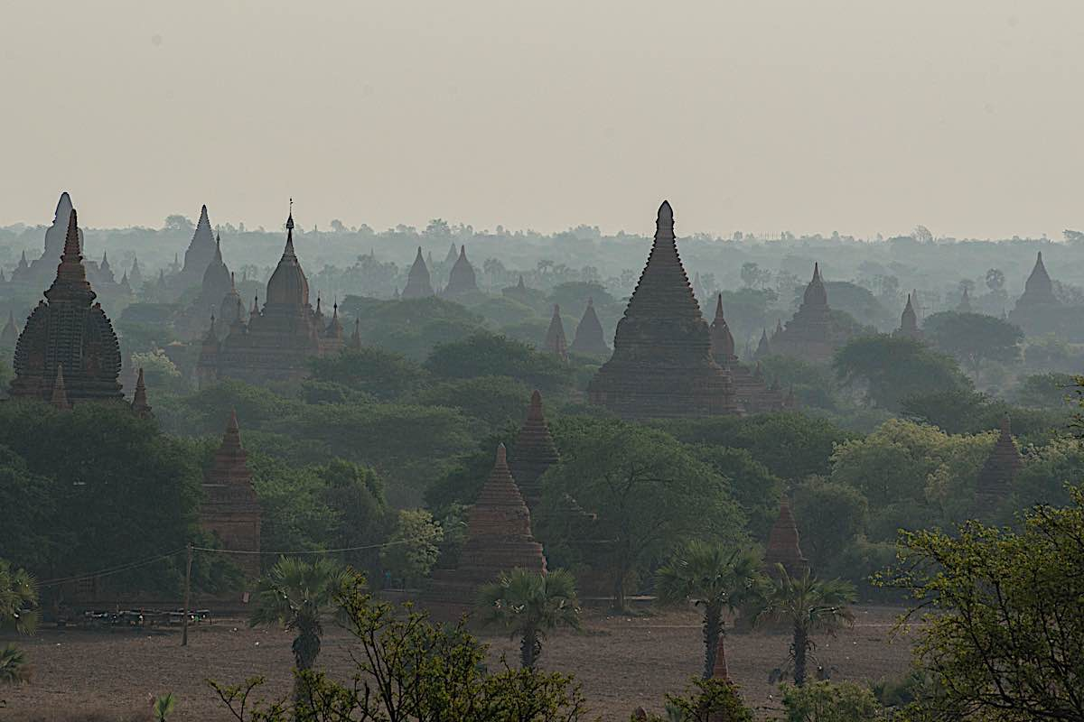 Buddha Weekly Temple and Pagoda Fields in Bagan in Myanmar 58984940 Buddhism