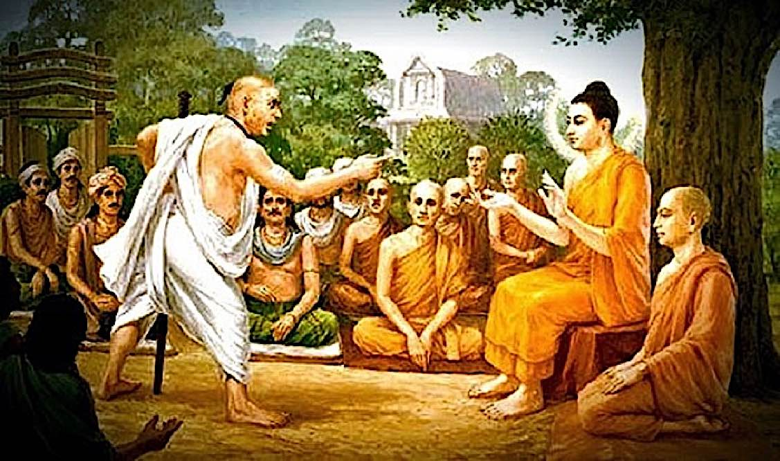 Buddha Weekly The man who spit in Buddhas Face Buddhism