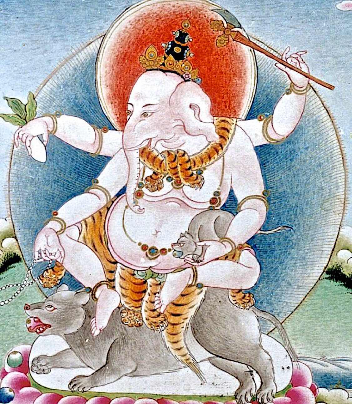 Buddhist Ganesha: popular Ganapati's many forms include
