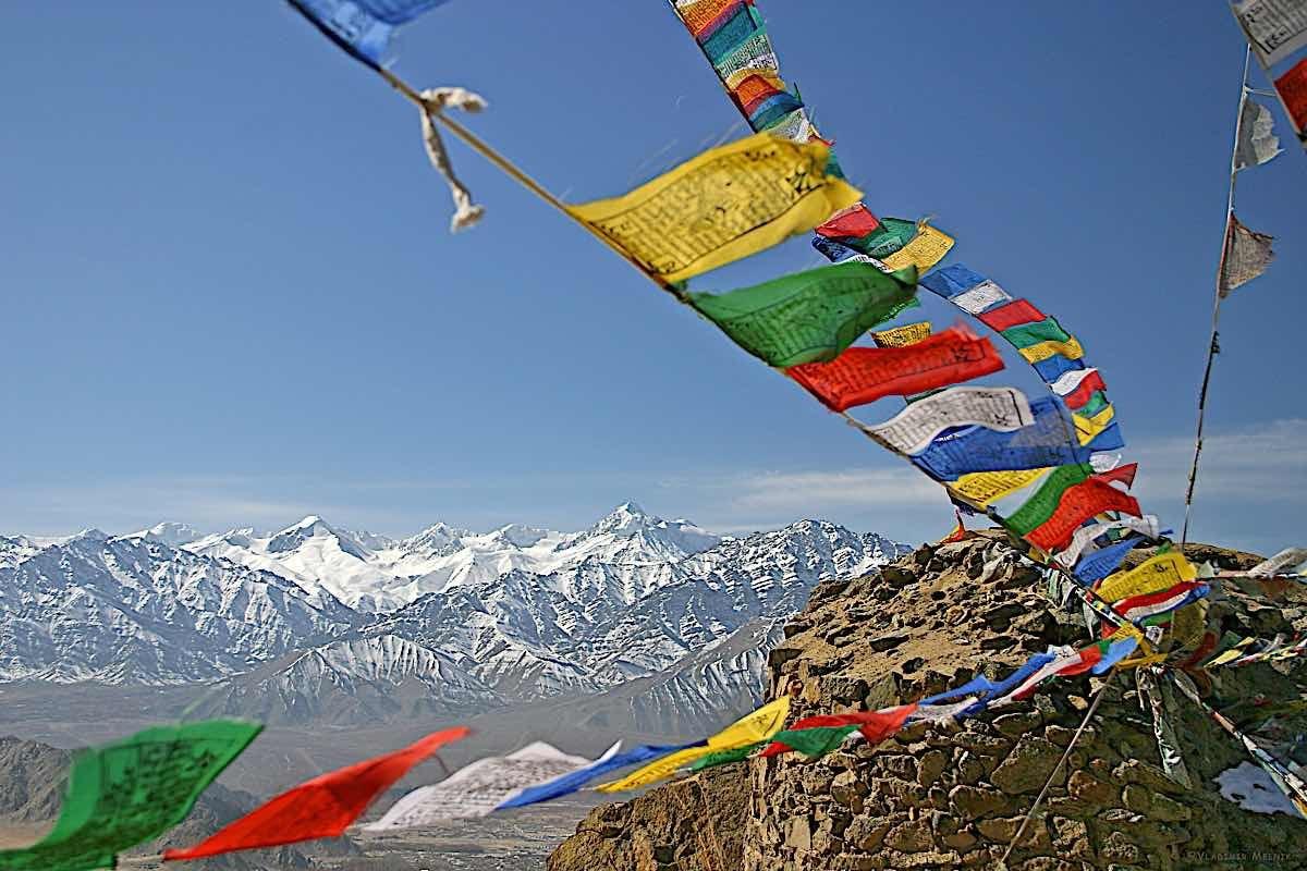 Buddha Weekly Tibetan Prayer Flags Buddhism