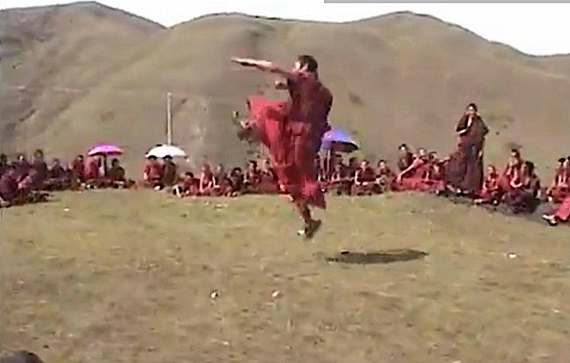 Buddha Weekly Tibetan monastic martial arts Buddhism