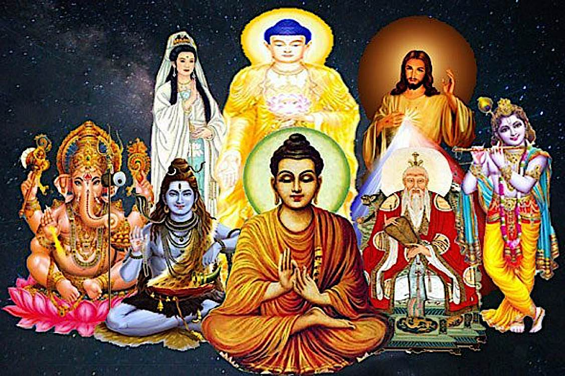 Buddha Weekly Unversal convergent beliefs Buddha Jesus Hindu Buddhism