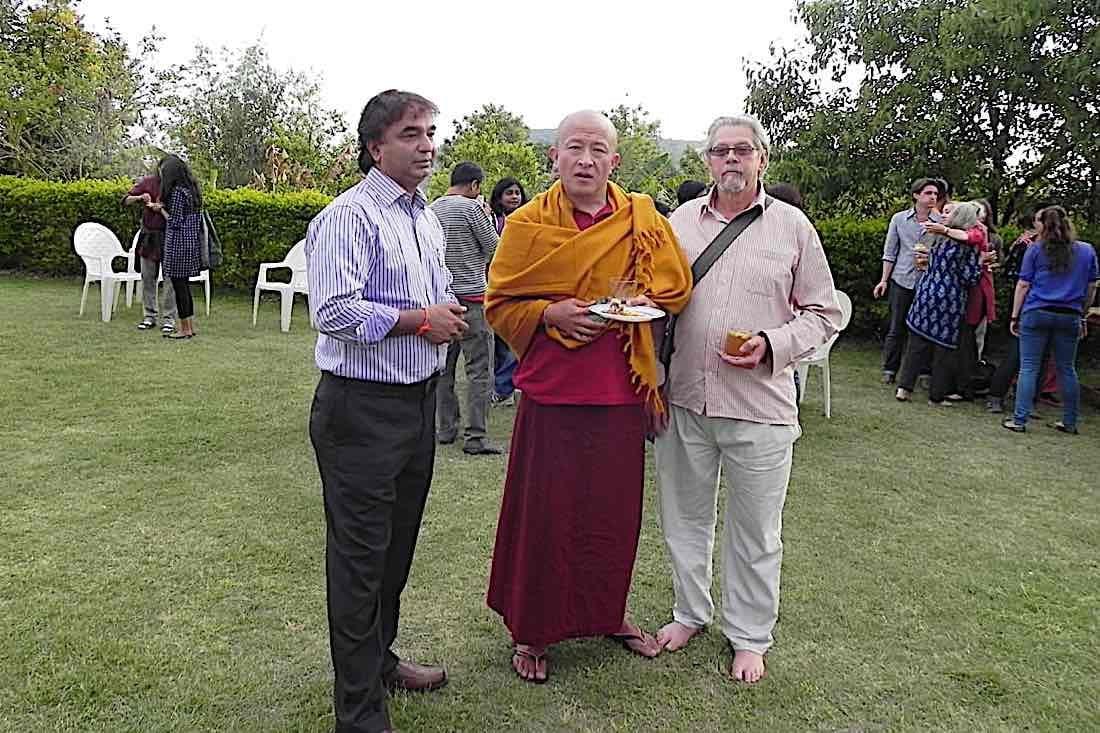 Buddha Weekly V V Sapar with Dzongsar Rinpoche Buddhism