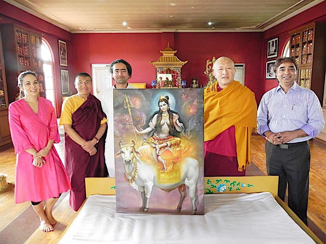 Buddha Weekly V V Sapar with the 21st Taras according to Surya Gupta Tradition with Dzongsar Rinpoche Buddhism