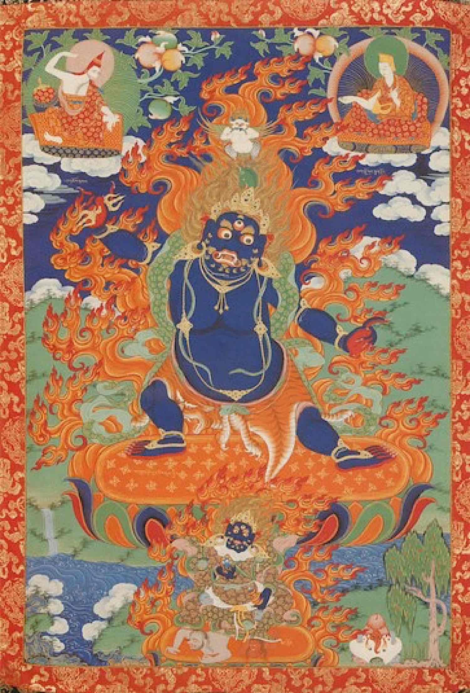 Buddha Weekly Vajrapani Hayagriva Garuda Himalayan Art Buddhism