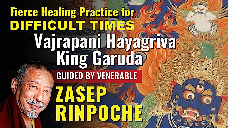 Buddha Weekly Vajrapani Hayagriva King Garuda BW Youtube title Buddhism