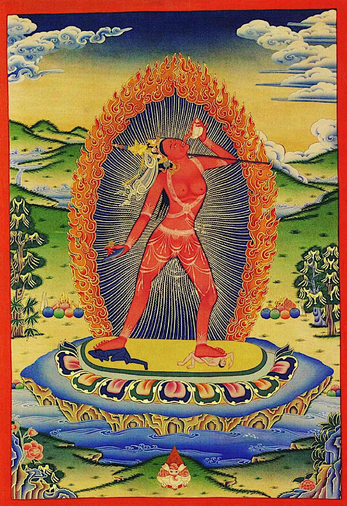 Naked wisdom for degenerate times: Vajrayogini, enlightened