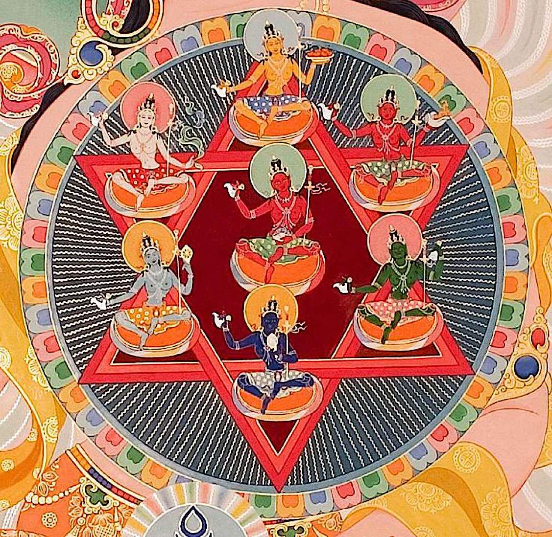 Buddha Weekly Vajrayogini body mandala Buddhism