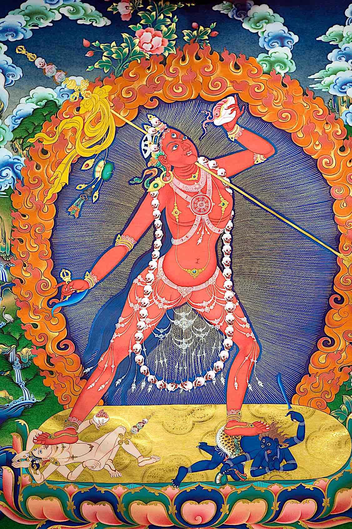 Buddha Weekly Vajrayogini from Thangka Buddhism