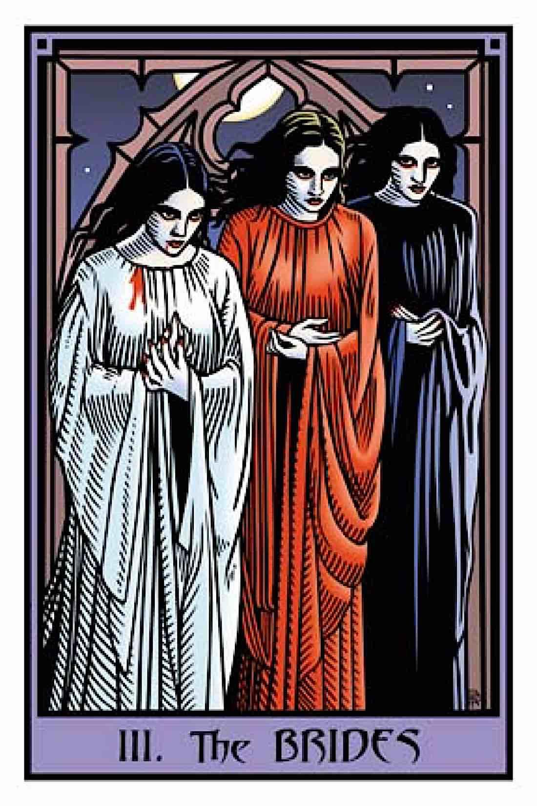 Buddha Weekly Vampire Tarot the Brides Buddhism