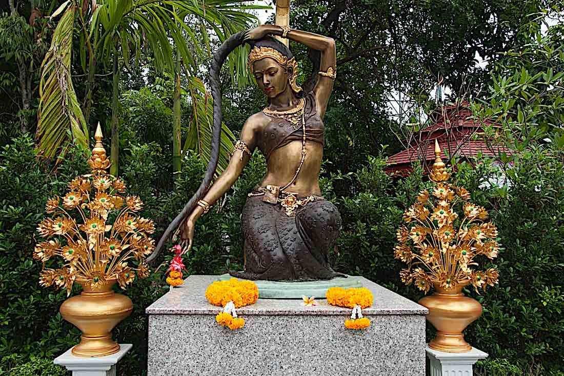 Buddha Weekly Vasundhara Phra Mae Thorani Buddhism