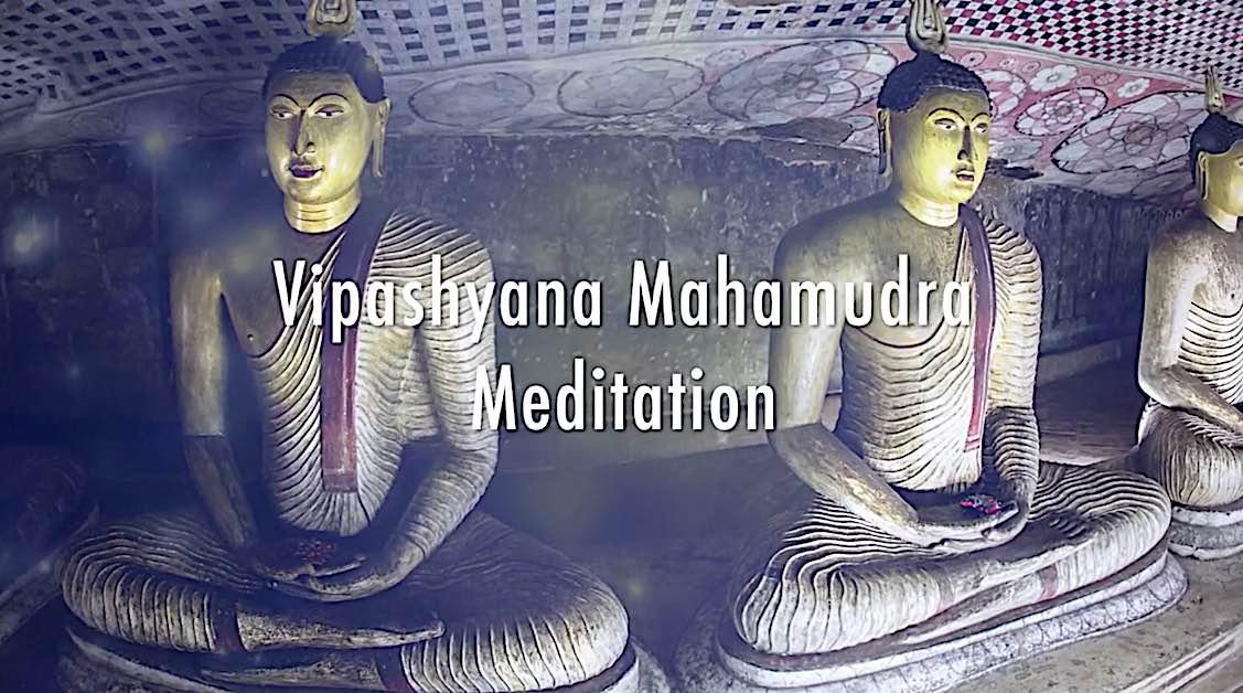 Buddha Weekly Vipashyana Mahamudra Meditation with H E Zasep Rinpoche Buddhism