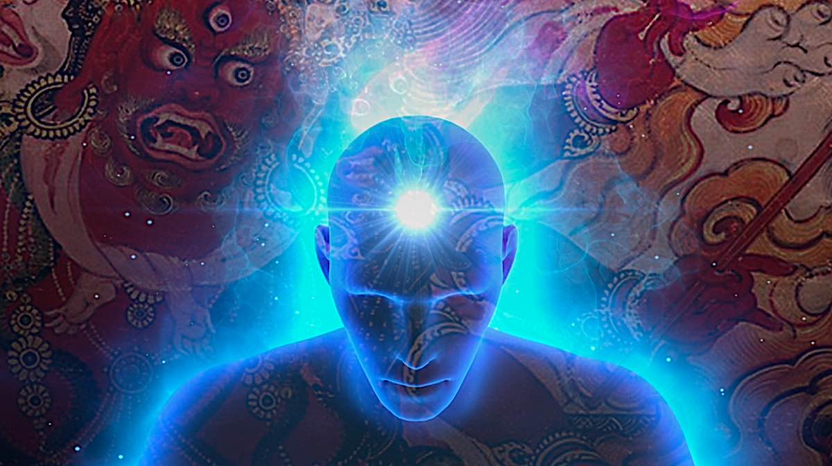 Buddha Weekly Visualizing the self as Hayagriva graphic Buddhism