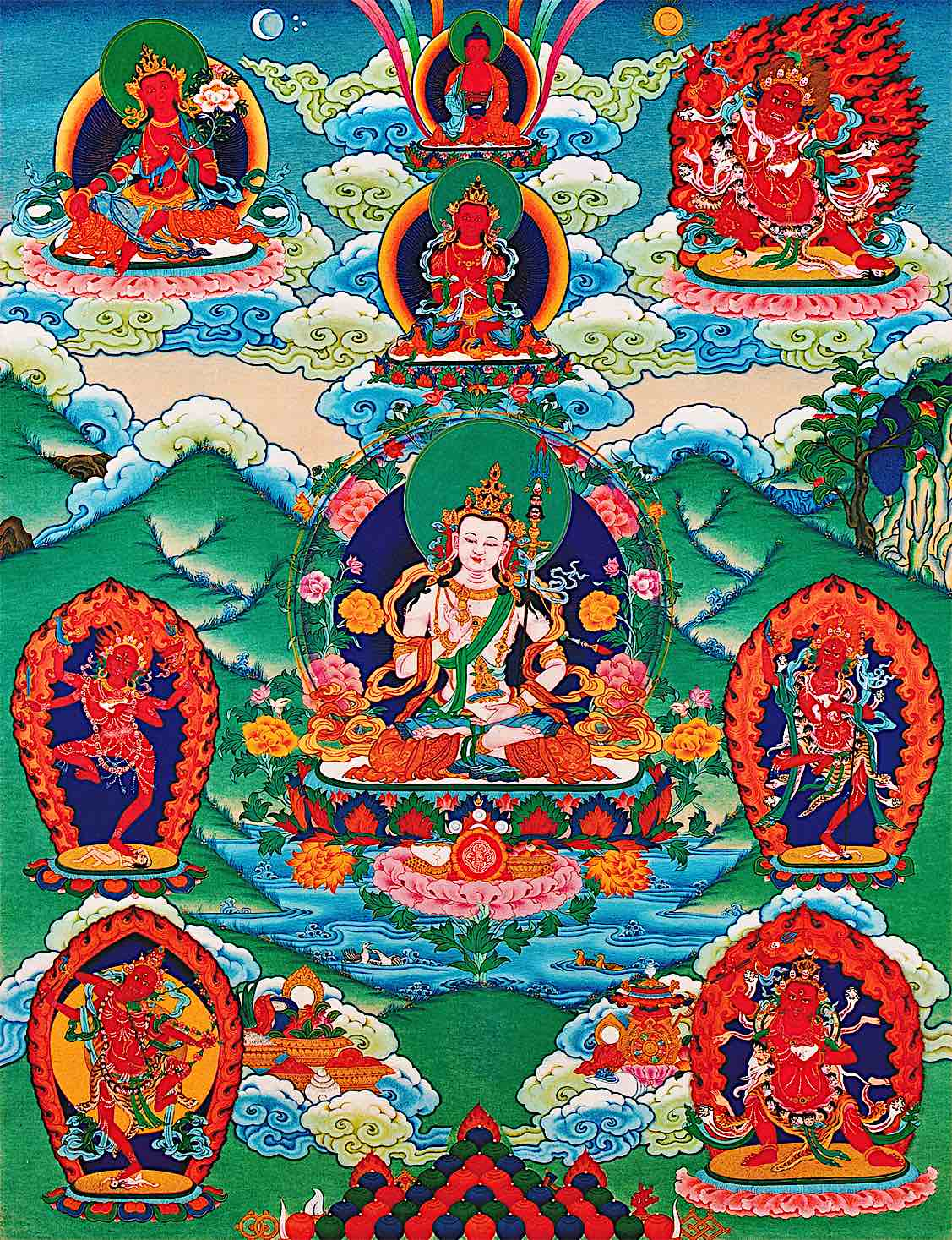 Buddha Weekly Wangdue large Buddhism