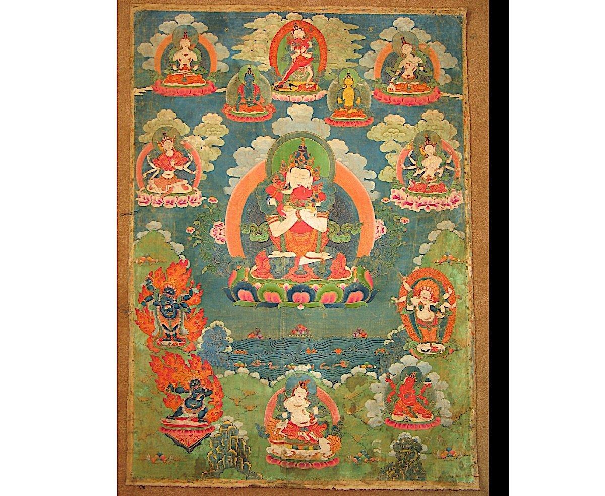 Buddha Weekly White Heruka Buddhism