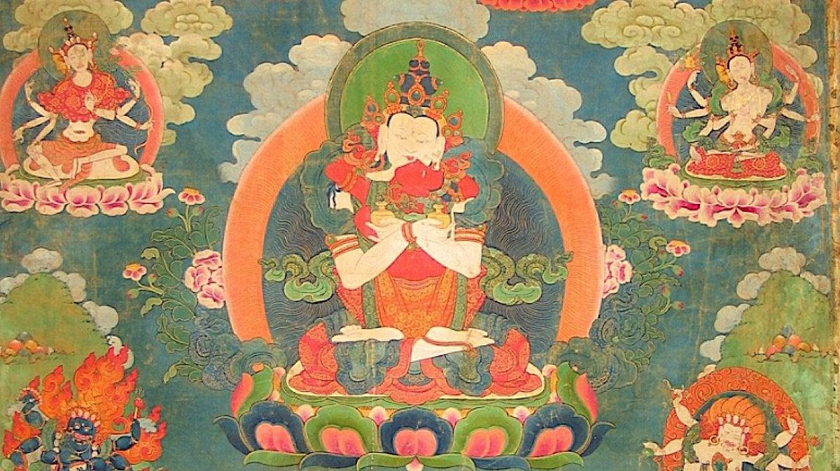Buddha Weekly White Heruka Vajrayogini Long Life Practice Feature Image Buddhism