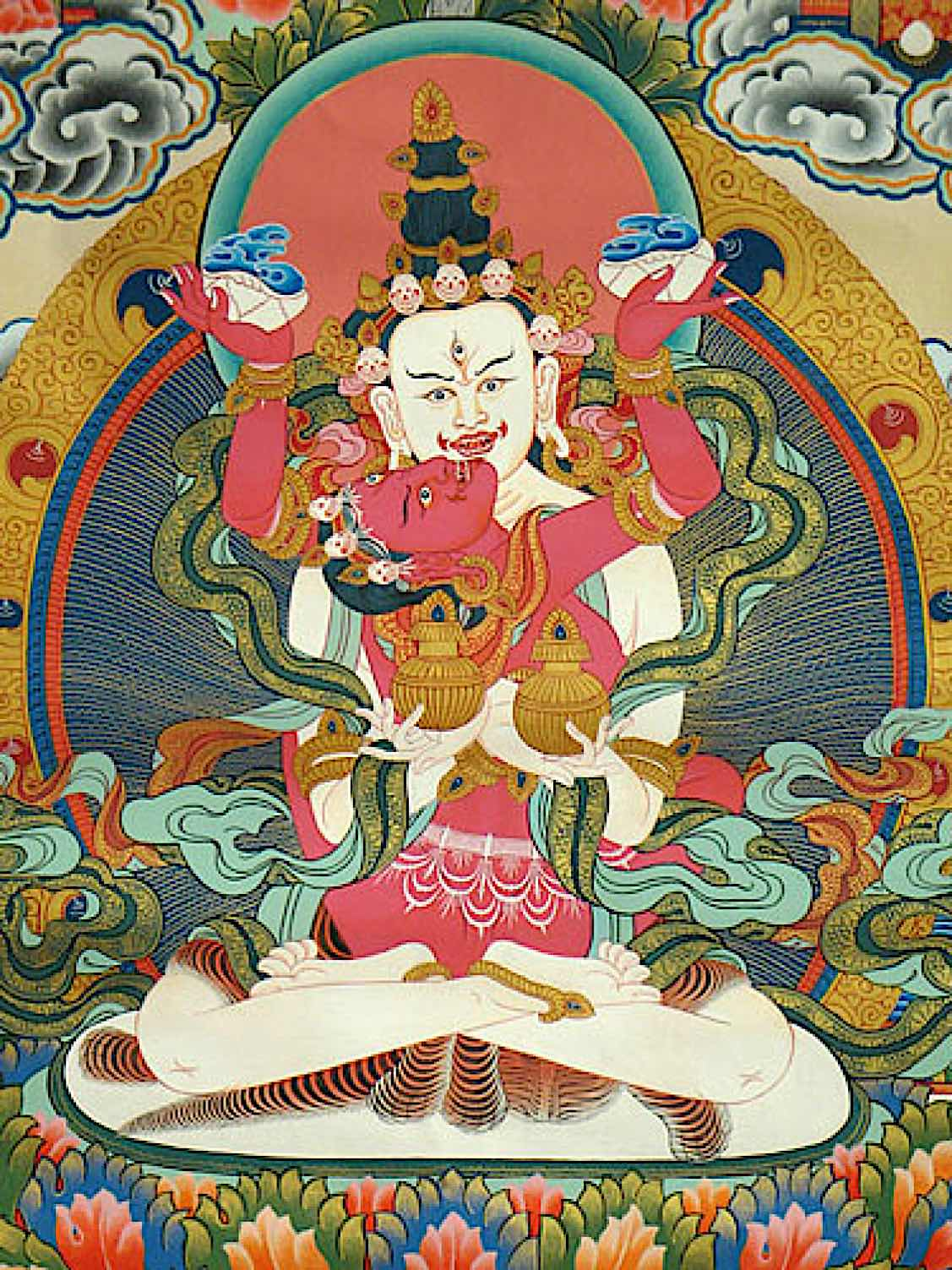 Buddha Weekly White Heruka and Vajrayogini Buddhism 1