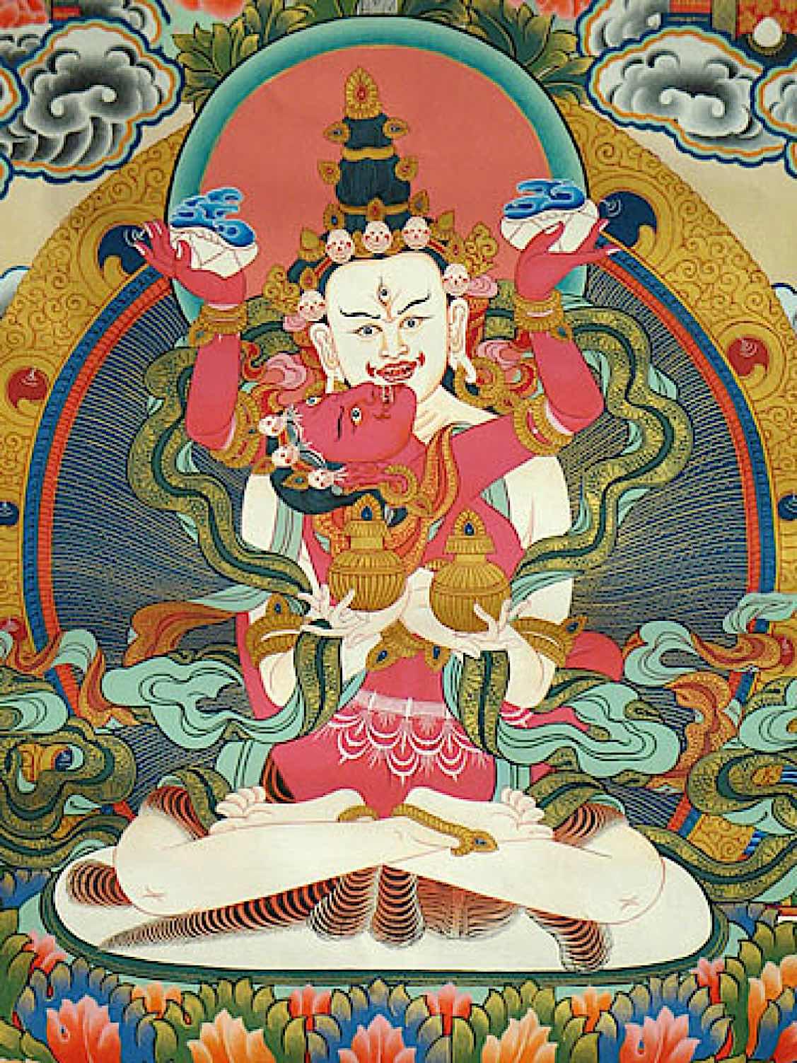 Buddha Weekly White Heruka and Vajrayogini Buddhism