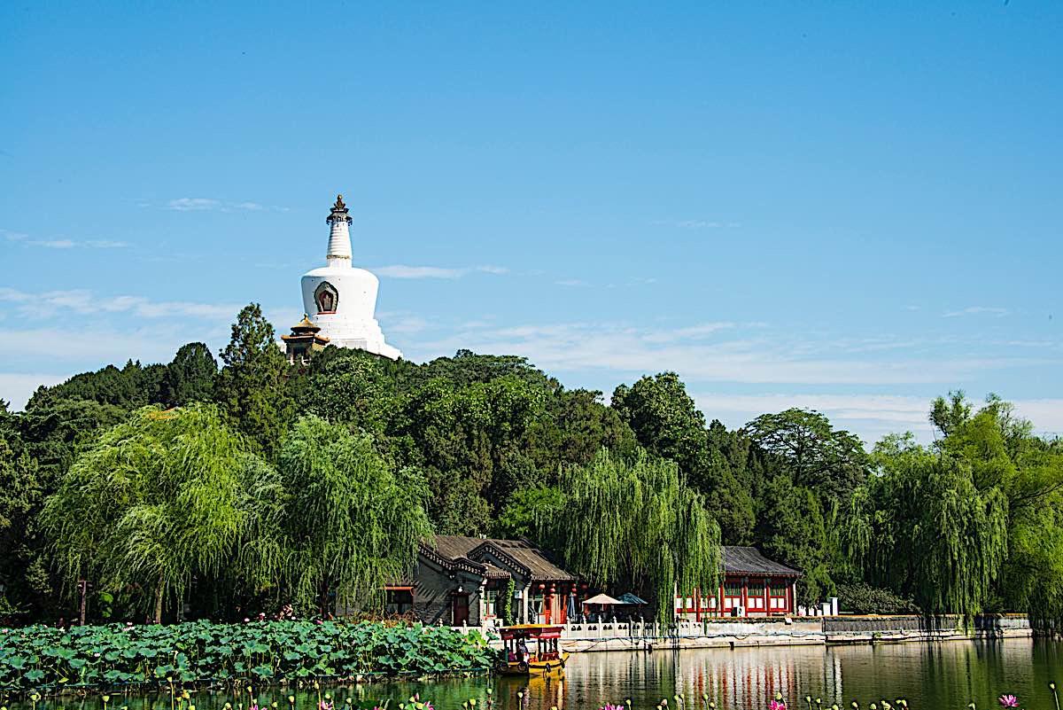 Buddha Weekly White Pagoda Beijing beihai park 76262587 Buddhism