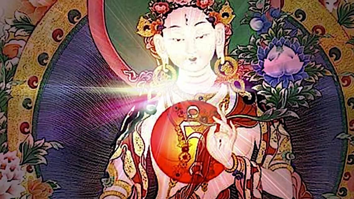 Buddha Weekly White Tara Video long life practice Tam at heart of Tara Buddhism