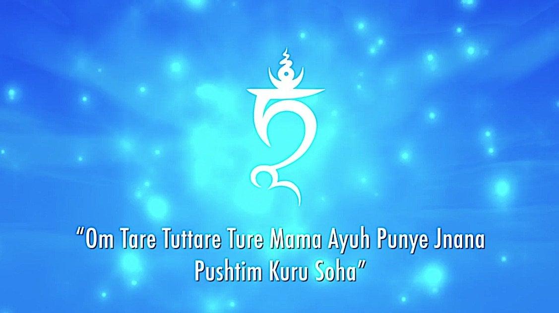 Buddha Weekly White Tara Video long life practice White TAM and Mantra Buddhism