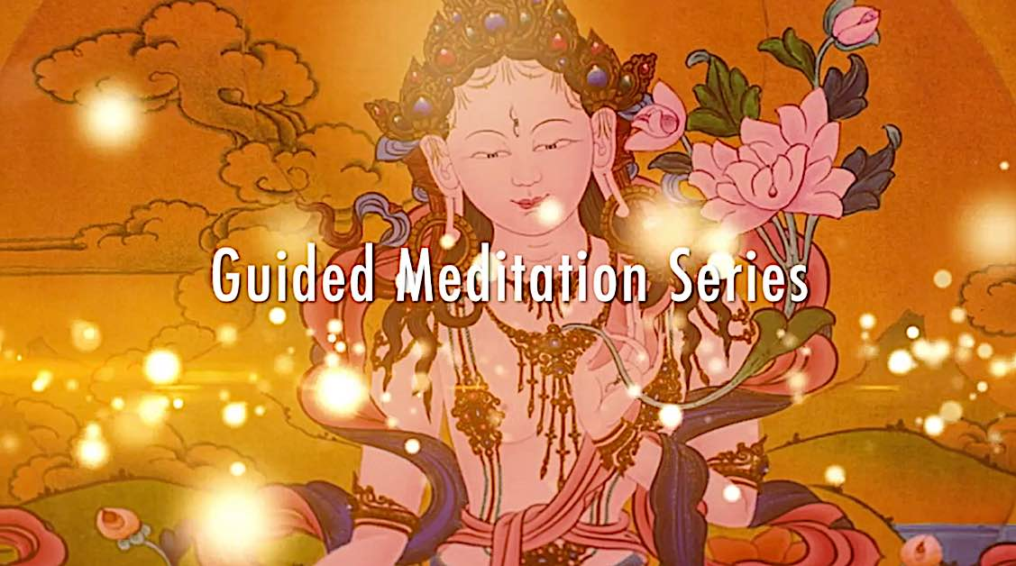 Buddha Weekly White Tara Video long life practice guided meditation series title Buddhism