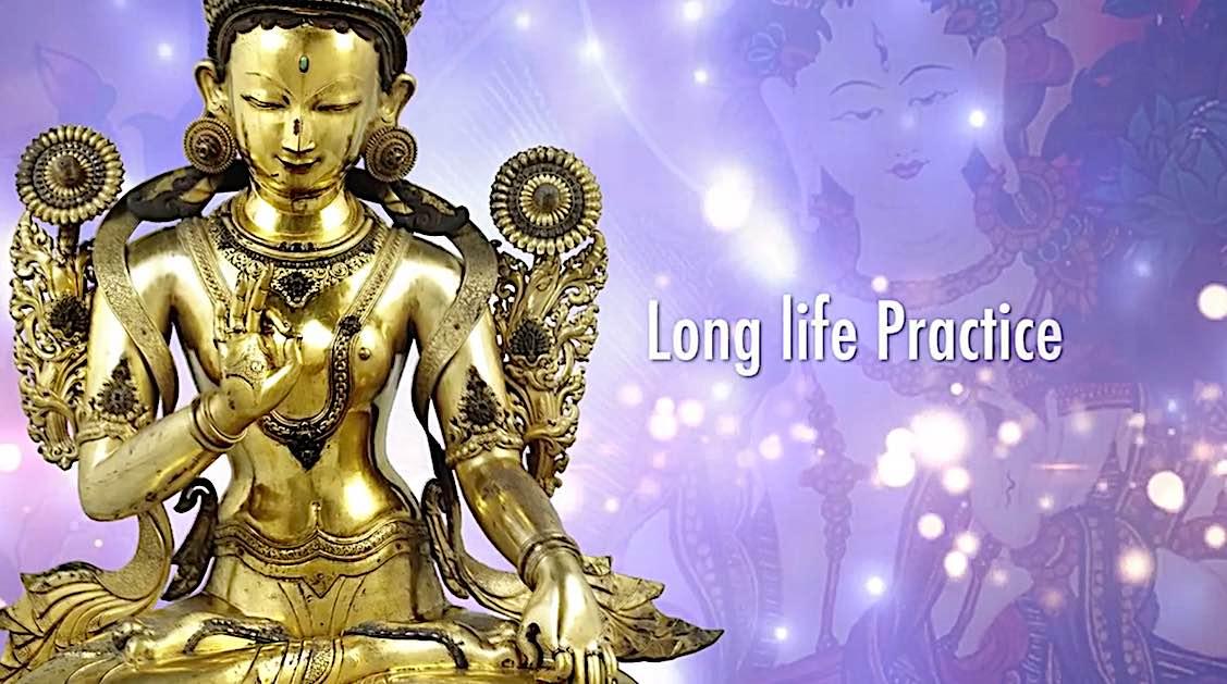 Buddha Weekly White Tara Video long life practice title Buddhism