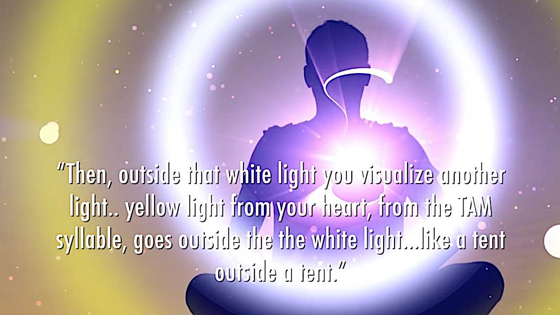 Buddha Weekly White Tara Video long life practice white tent and yellow tent of protection Buddhism