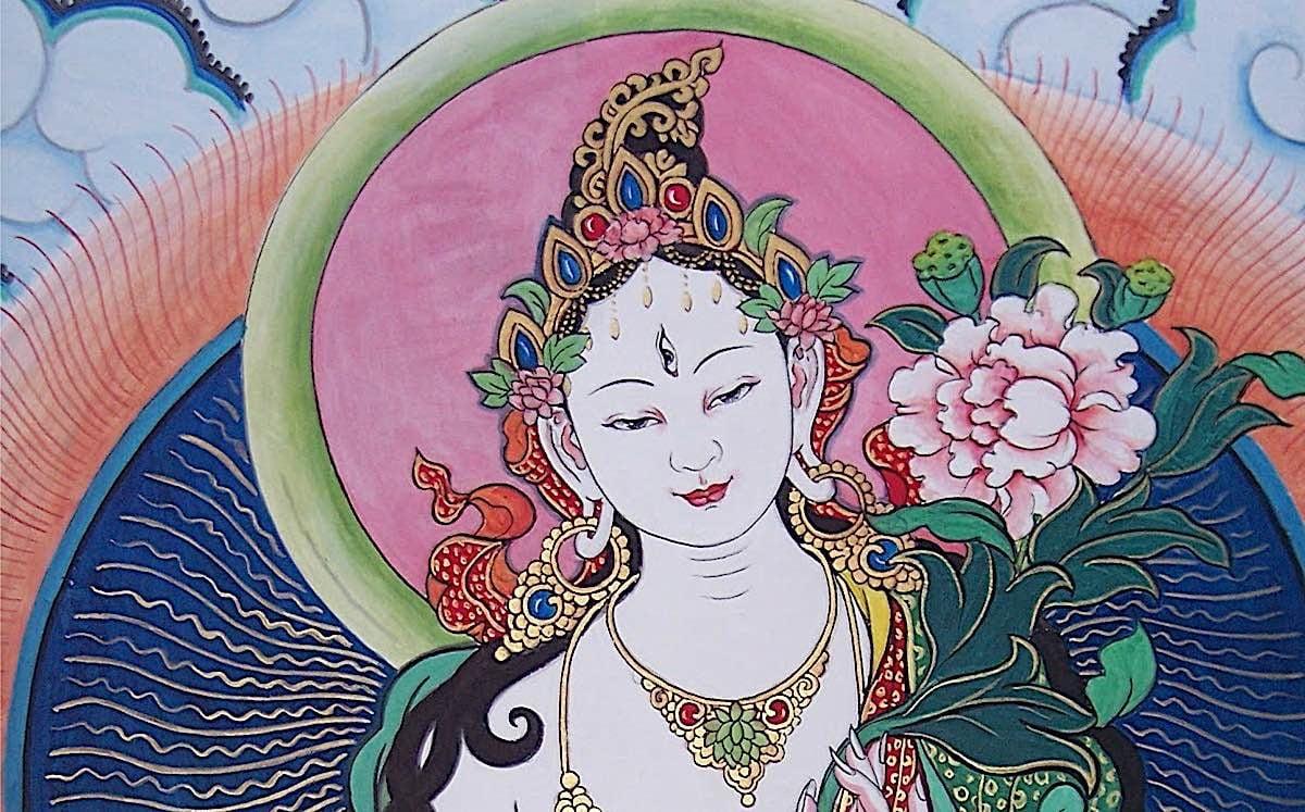 Buddha Weekly White Tara feature image horizontal Buddhism