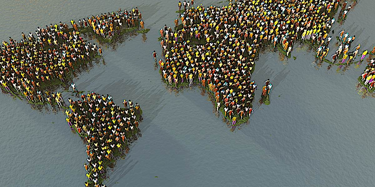 The world population is growing at an almost unsustainable rate, now nearing 7.9 billion as of June 29 2021.
