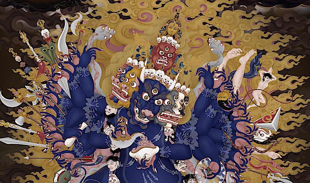Buddha Weekly Yamantaka Buddhism