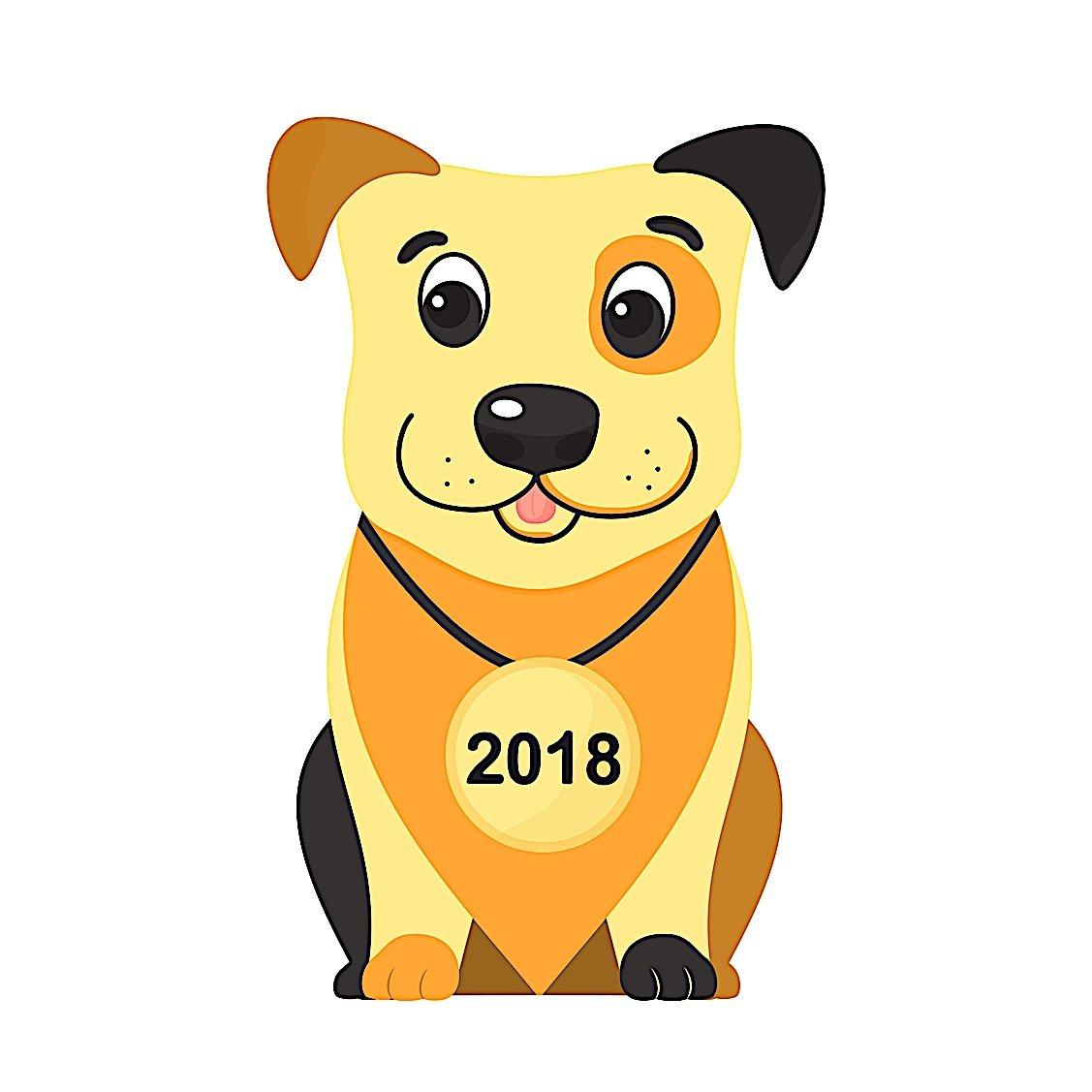 Buddha Weekly Year of dog 2018 icon cute Buddhism