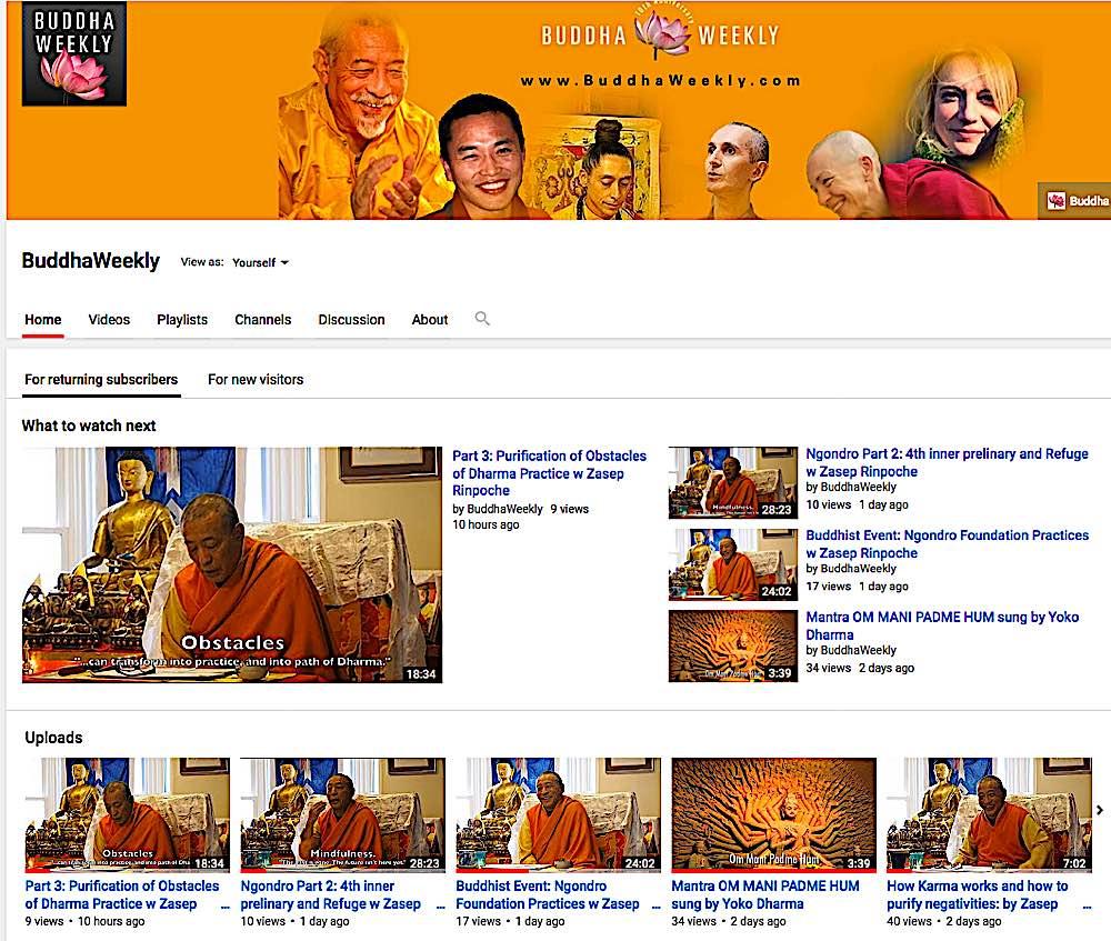Buddha Weekly YouTube Channel Condo ca Canada Condominium Magazine