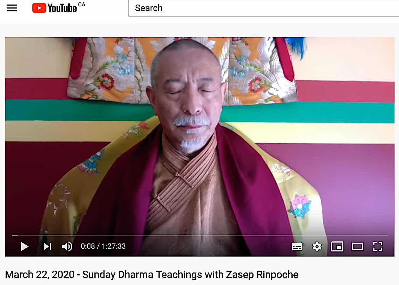 Buddha Weekly Youtube livestream Buddhism