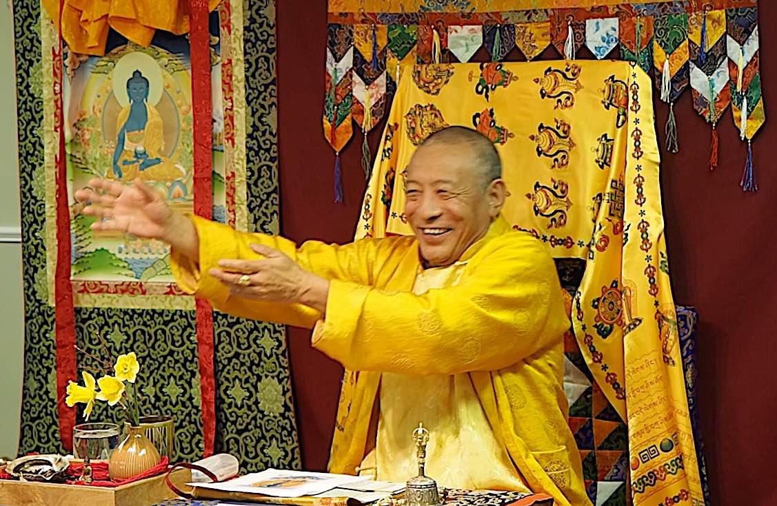 Buddha Weekly Zasep Rinpoche Laughing Gesuring Medicine Buddha Retreat Owen Sound Ontario Buddhism