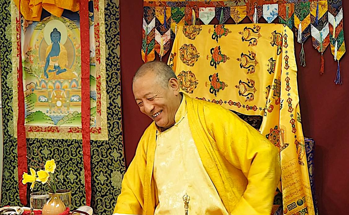 Buddha Weekly Zasep Rinpoche Laughing Medicine Buddha Retreat Owen Sound Ontario 2 Buddhism