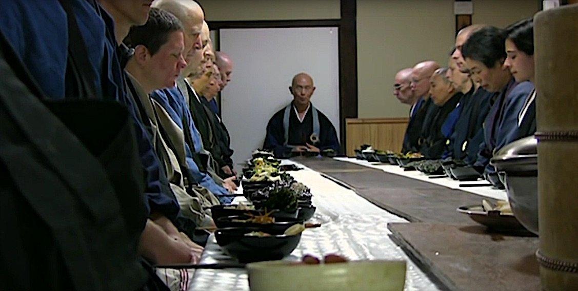 Buddha Weekly Zen discipline of eating in a Zen Temple Buddhism