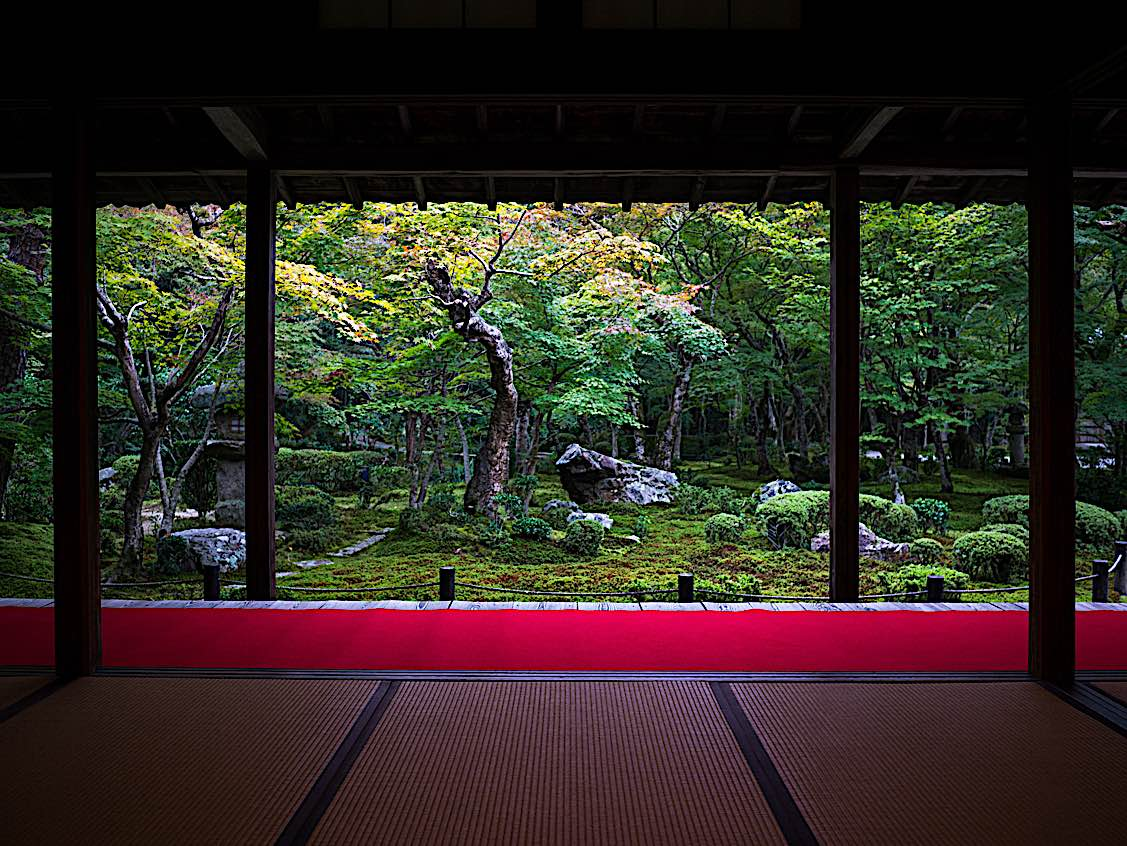 Quiet and space for your practice: ultimately, we need only