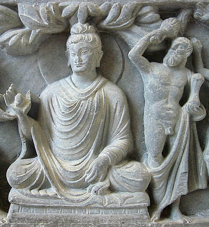 Buddha Weekly Zeus as Vajrapani the protector of the Buddha 2nd century Greco Buddhist Art Buddhism