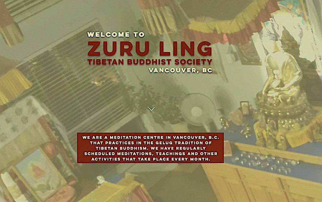 Buddha Weekly Zuru Ling Tibetan Buddhist Society Vancouver BC Buddhism