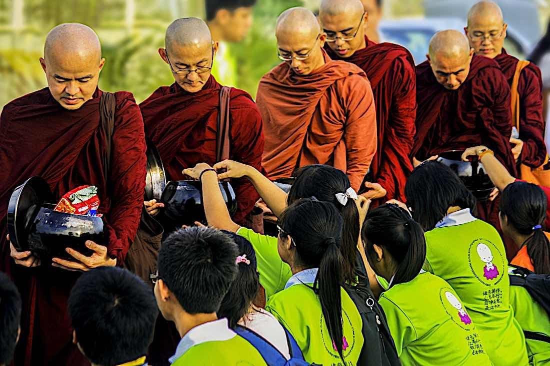 Buddha Weekly asian buddhism buddhist youth generosity Buddhism