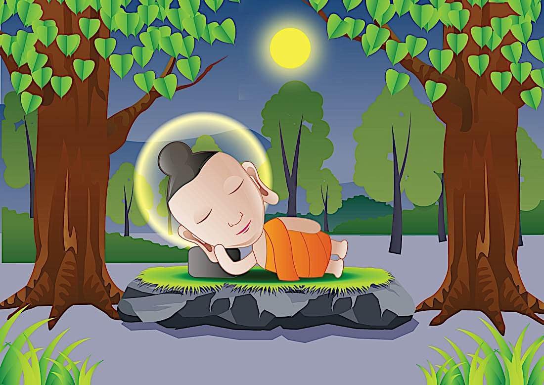 Buddha Weekly buddha sleeping forest Buddhism