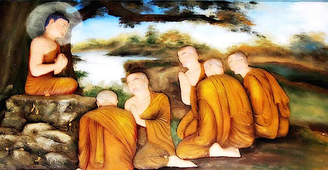 Buddha teaches the Nadi Sutta: overcoming the assumptions of self