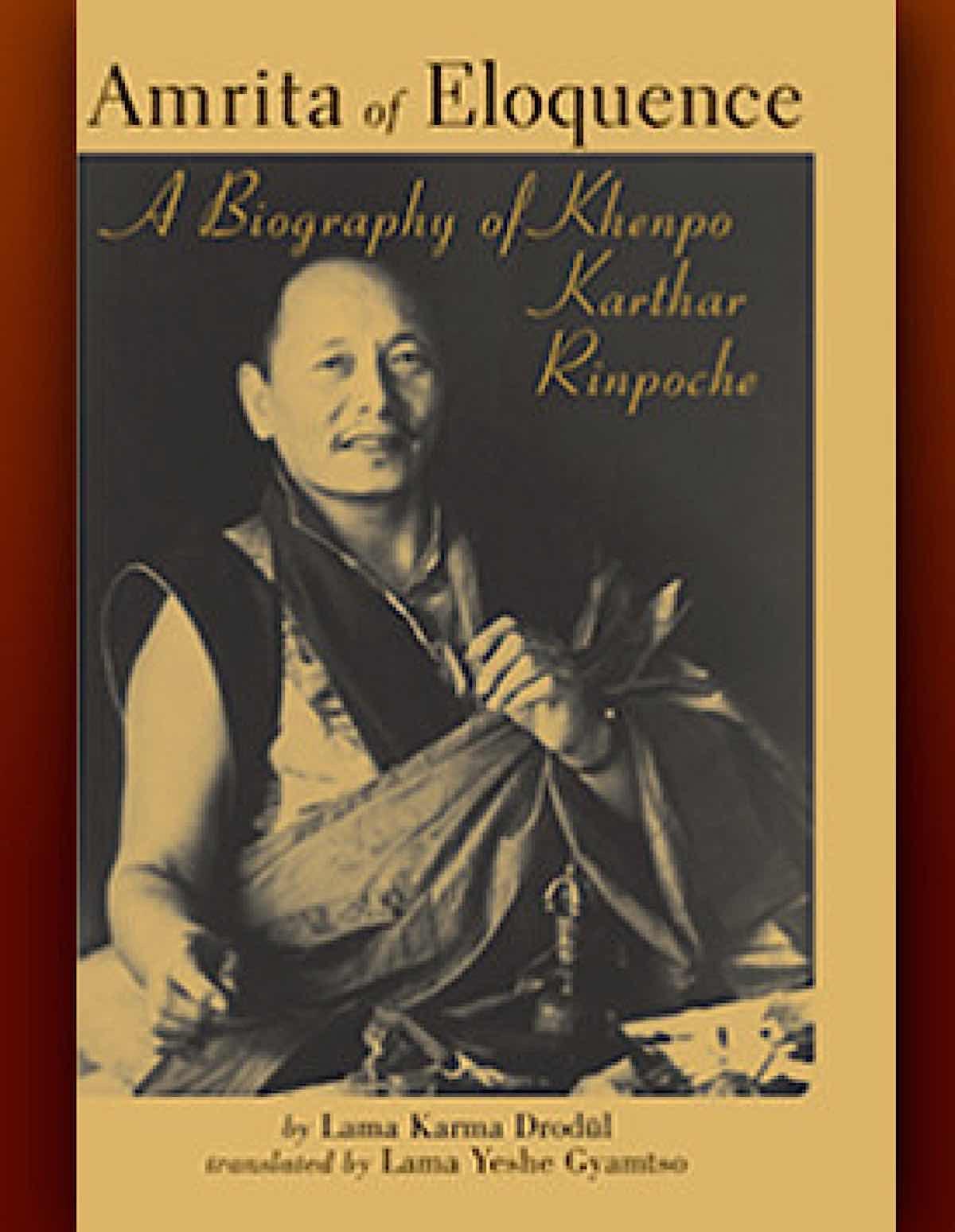 Buddha Weekly cover Amrita of Eloquence Khenpo Kathar Rinpoche Buddhism