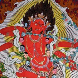 "Kurukulla: the ""Diva"" Dakini of enlightened magic; the enchantress transforms seduction into 'the cause of wisdom'"