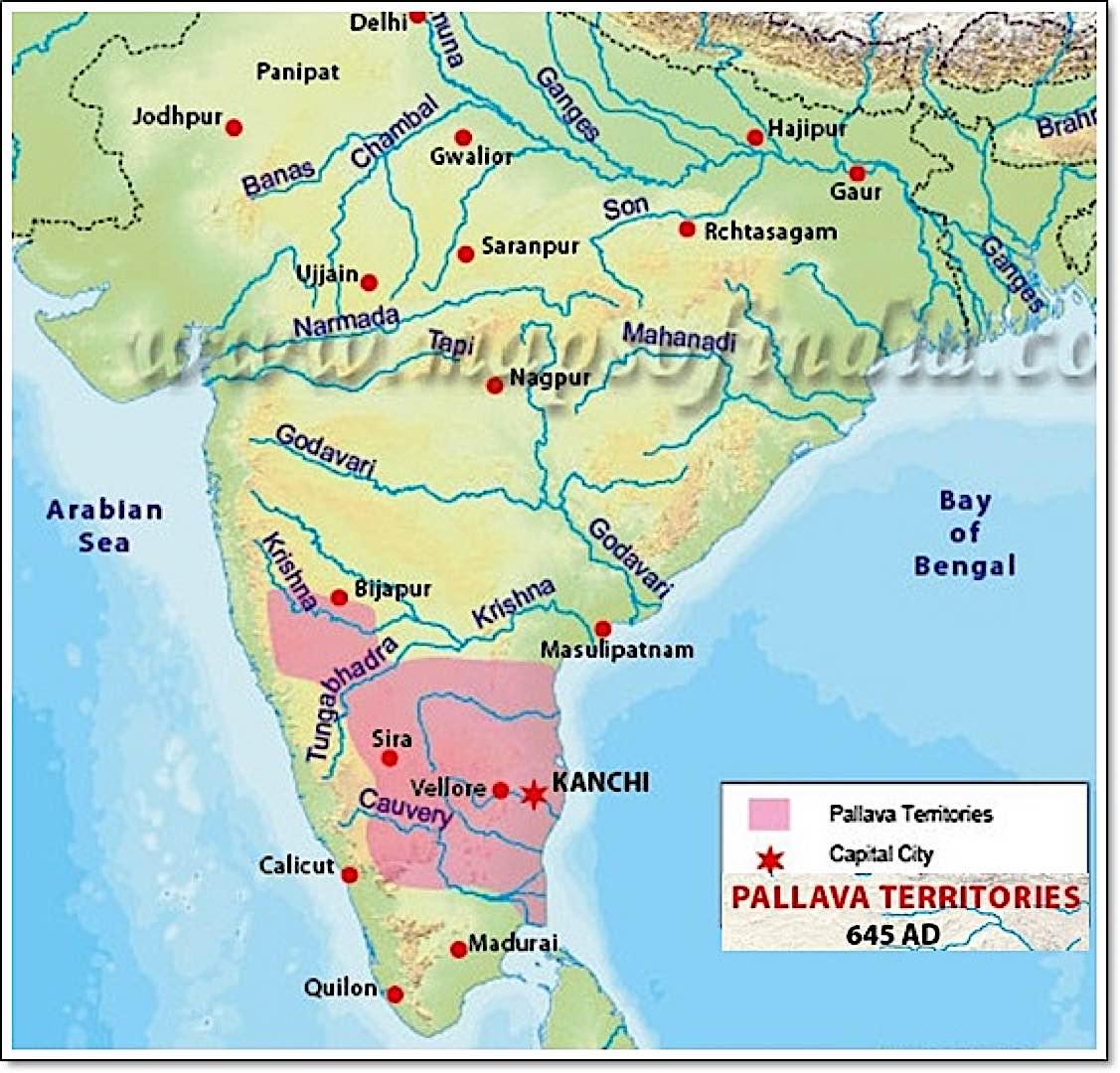 Buddha Weekly pallava kingdom where Bodhidharma was likely born Buddhism