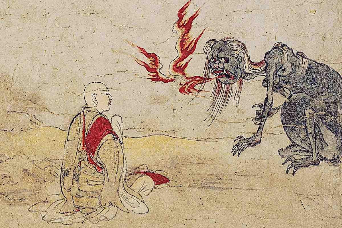 Buddha Weekly preta hungry ghosts Kyoto National Museum Buddhism