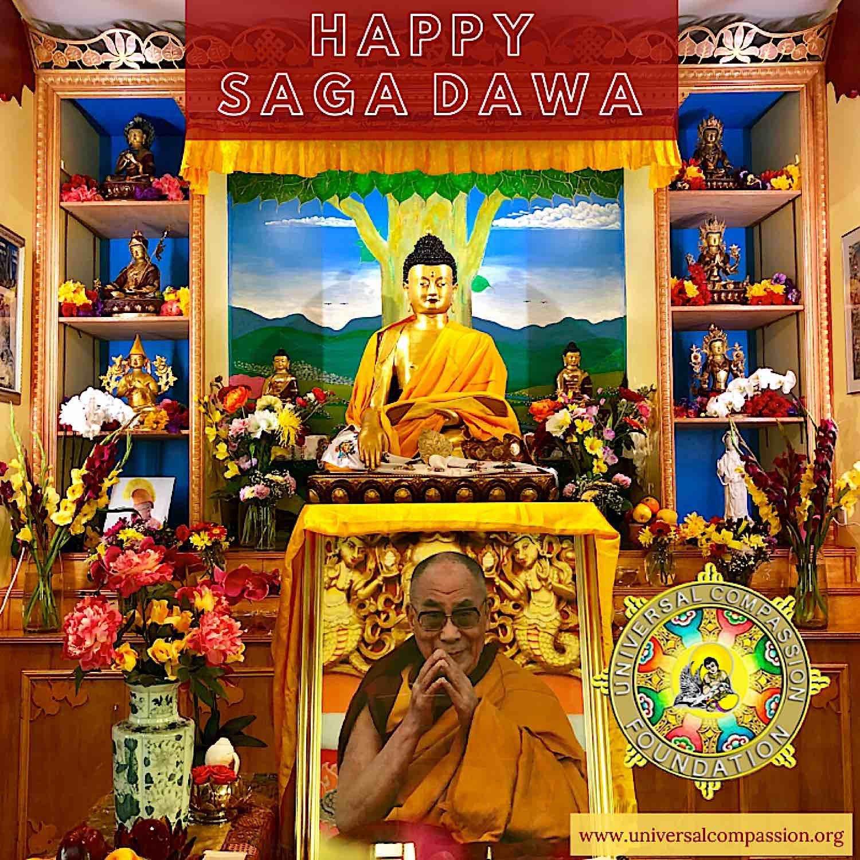 Buddha Weekly saga dawA Buddhism