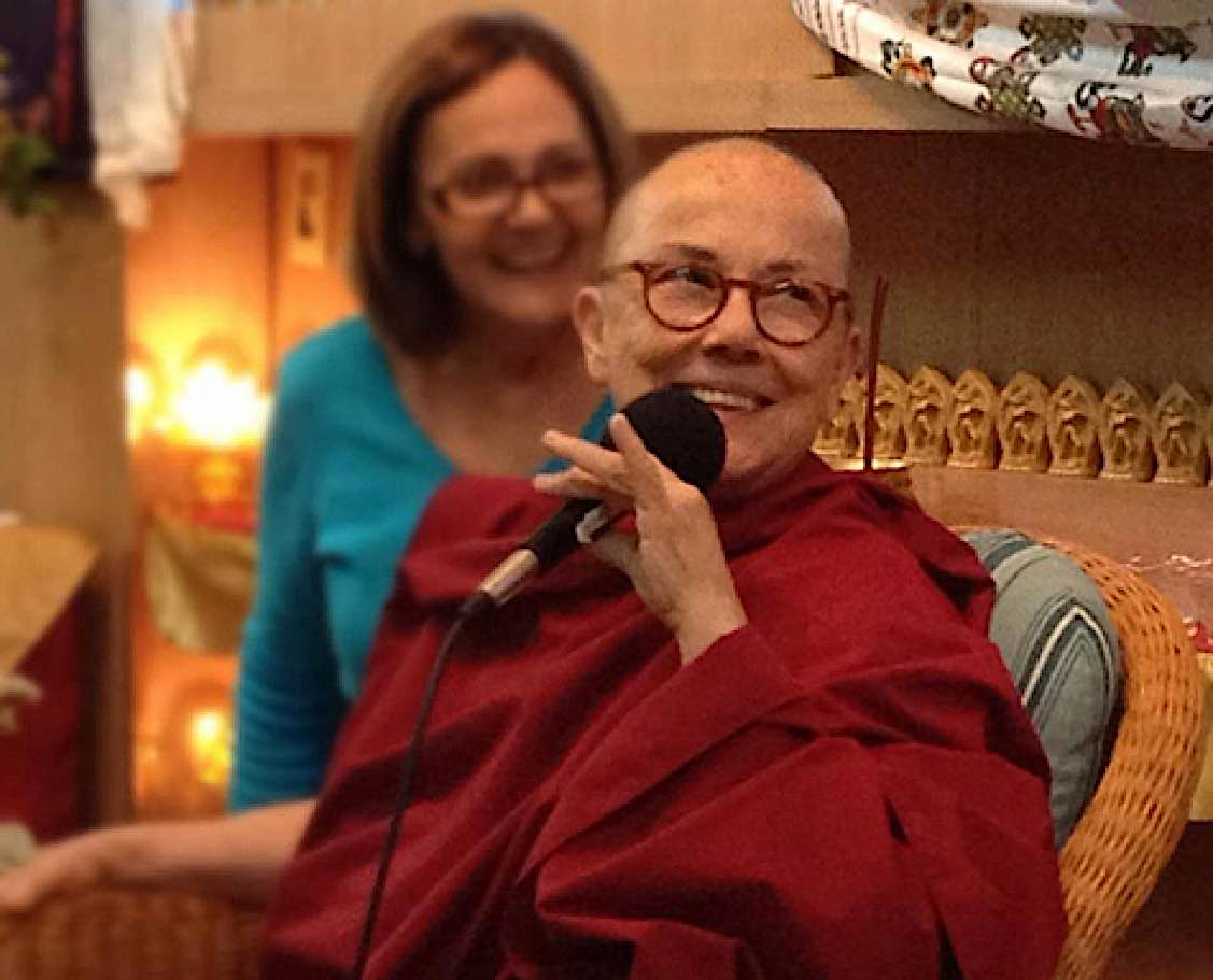 Buddha Weekly venerable Robina Courtin puerto rico2 Buddhism