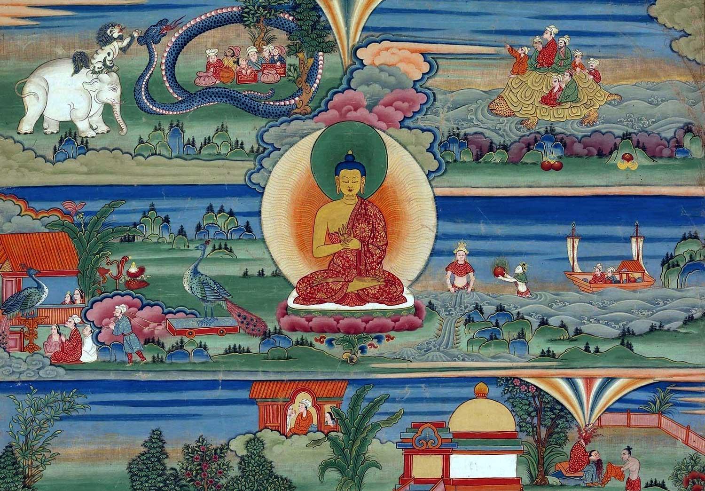 Buddha loving kindness